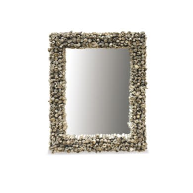 FOL073245 Driftwood Edges Rectangular Mirror