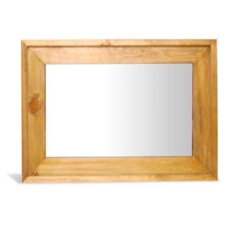 Leon Pine Rectangular Mirror Furniture123