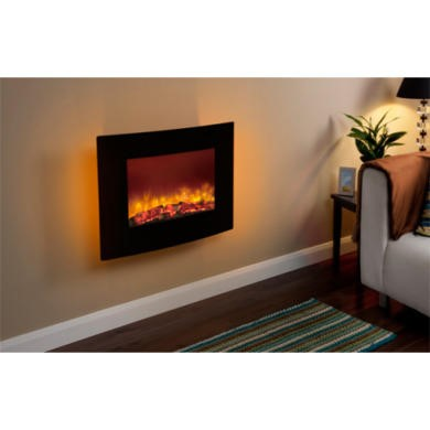 Be Modern Quattro Wall Mounted Electric Fire Furniture123
