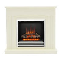 Be Modern Linmere Stone Effect Electric Fireplace Suite