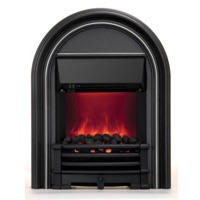 Be Modern Abbey Black Finish Electric Fire