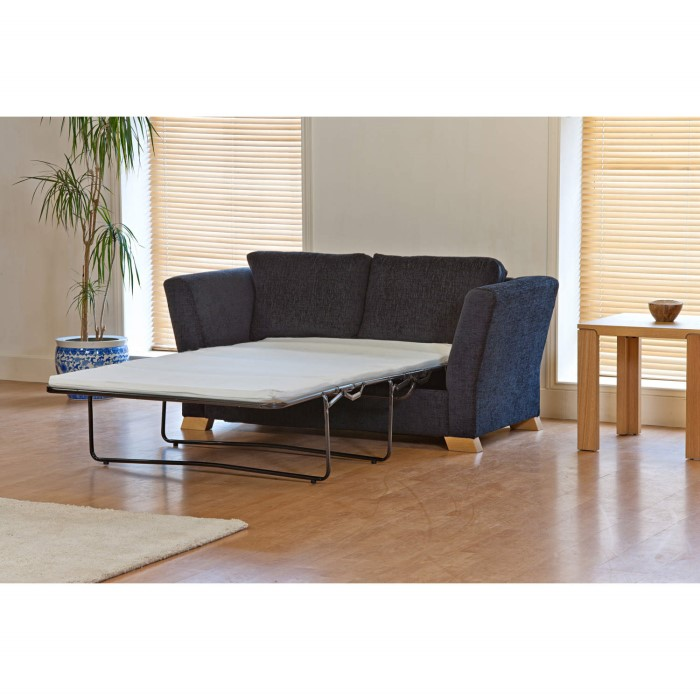 Kyoto futons ardley 2 seater sofa bed victoria aqua for Sofa bed victoria