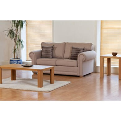 Kyoto Futons Burleigh 2 Seater Sofa Bed  victoria chocolate