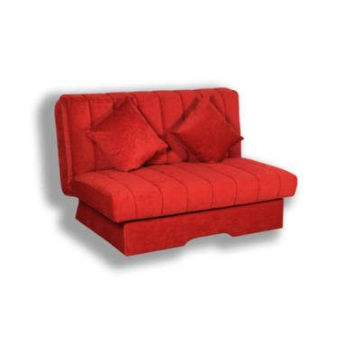 Kyoto Futons Dover Sofa Bed - louisa red