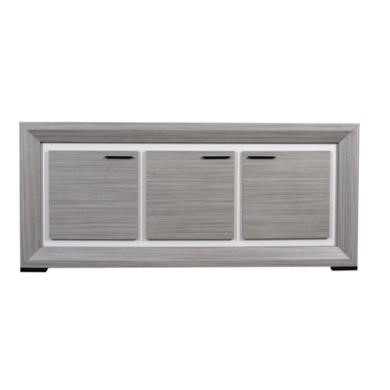Sciae Lynea 3 Door Sideboard in Teak