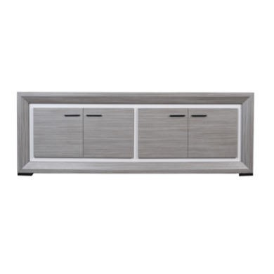 Sciae Lynea 4 Door Sideboard in Teak