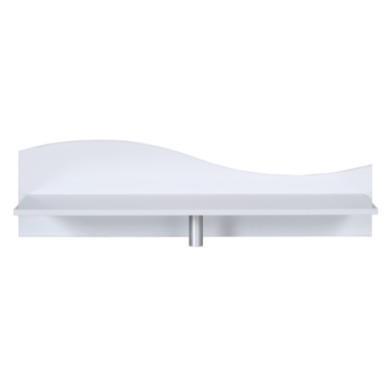 sciae strass lacquered white gloss desk top shelf. Black Bedroom Furniture Sets. Home Design Ideas