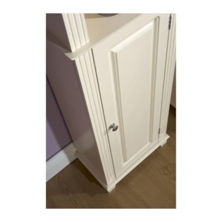 Mountrose Athens Cream 1 Door Bathroom Cupboard Furniture123
