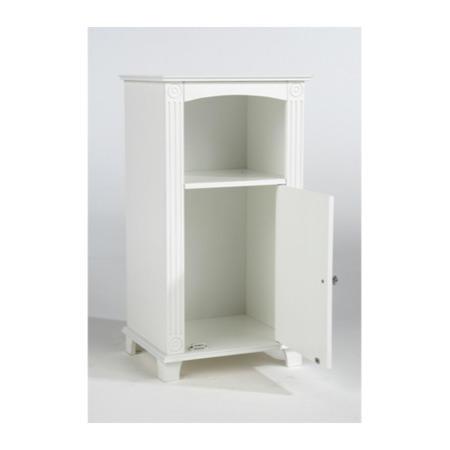 Mountrose Athens Cream 1 Door Bathroom Cupboard Furniture123