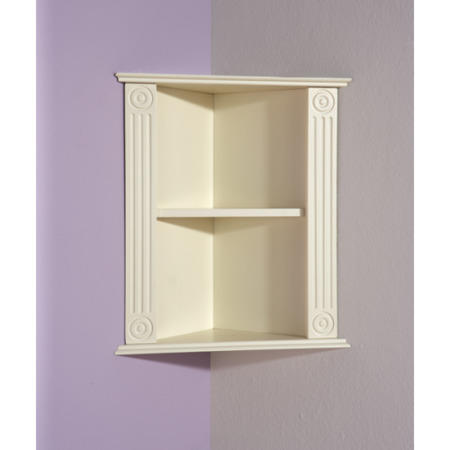 Mountrose Athens Cream Bathroom Corner Shelf Furniture123