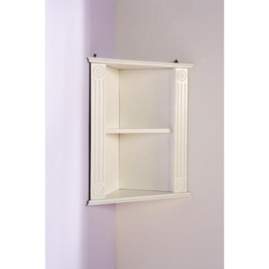mountrose athens white bathroom corner shelf furniture123. Black Bedroom Furniture Sets. Home Design Ideas