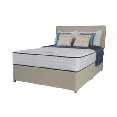 Rest assured andria 2000 pocket memory sprung edge divan for Double divan no mattress