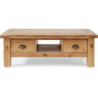 Willis Gambier Originals Normandy Solid Oak Coffee Table with Drawers