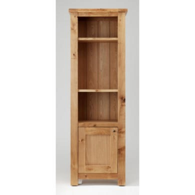 Willis Gambier Originals Normandy Solid Oak Narrow Display Cabinet