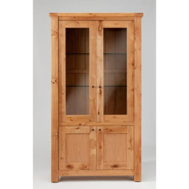 Willis Gambier Originals Normandy Solid Oak 4 Door Display Cabinet