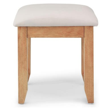 Willis Gambier Originals Normandy Solid Oak Dressing Table Stool