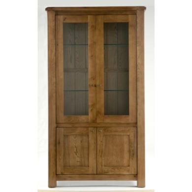 Willis Gambier Originals Bretagne Solid Oak 4 Door Display Cabinet