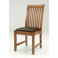 Willis Gambier Originals Bretagne Solid Oak Slat Back Dining Chair