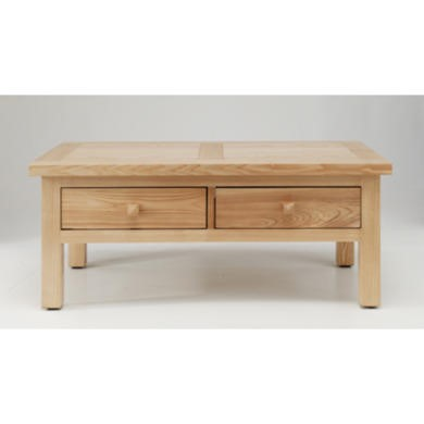 Willis Gambier Originals Portland Solid Ash Coffee Table with Drawers