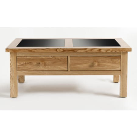 Willis Gambier Originals Fusion Ash Coffee Table with Drawers
