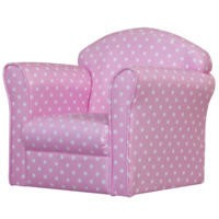 Kidsaw Mini Girls Armchair - Pink With Dots