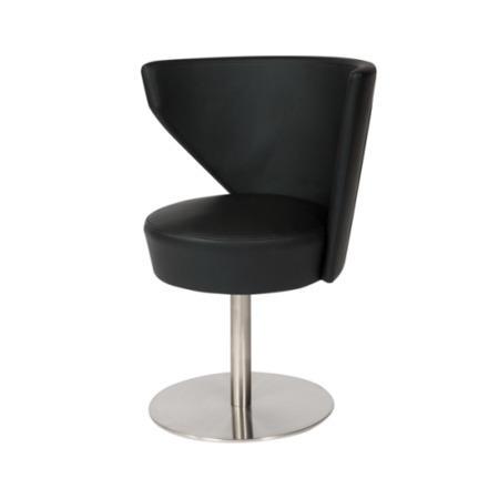 Wilkinson Furniture Mobo Black Swivel Chair Furniture123