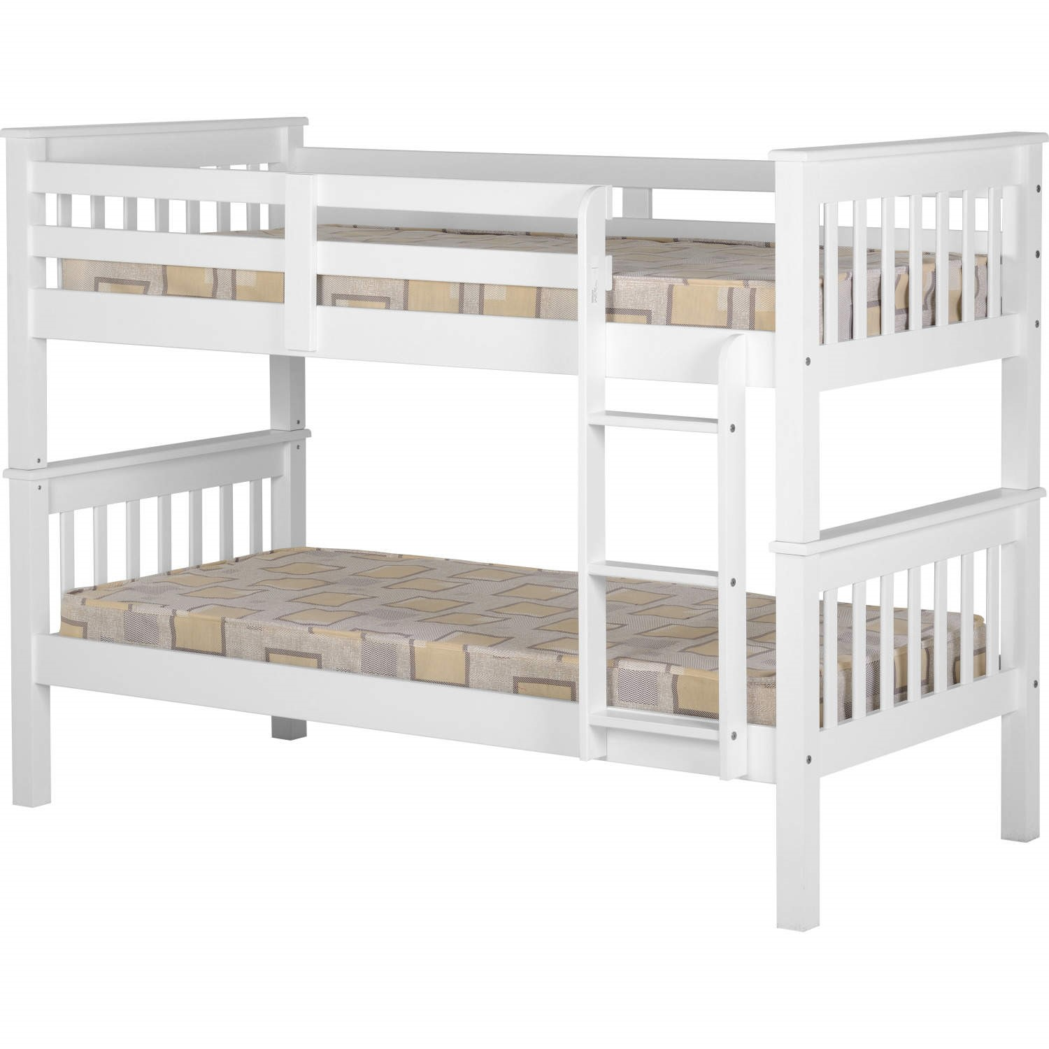Seconique Neptune Bunk Bed In White Bed Frame Only Furniture123