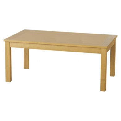 Seconique Oakleigh Long John Coffee Table in Natural Oak