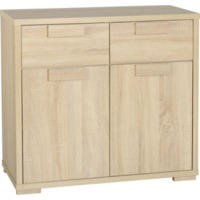 Seconique Cambourne 2 Door 2 Drawer Sideboard in Oak