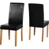Seconique G3 Dining Chair in Black Pair