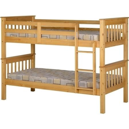 Seconique Neptune Bunk Bed in Oak Effect