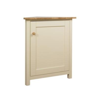Origin Red York Corner Cabinet in Ivory