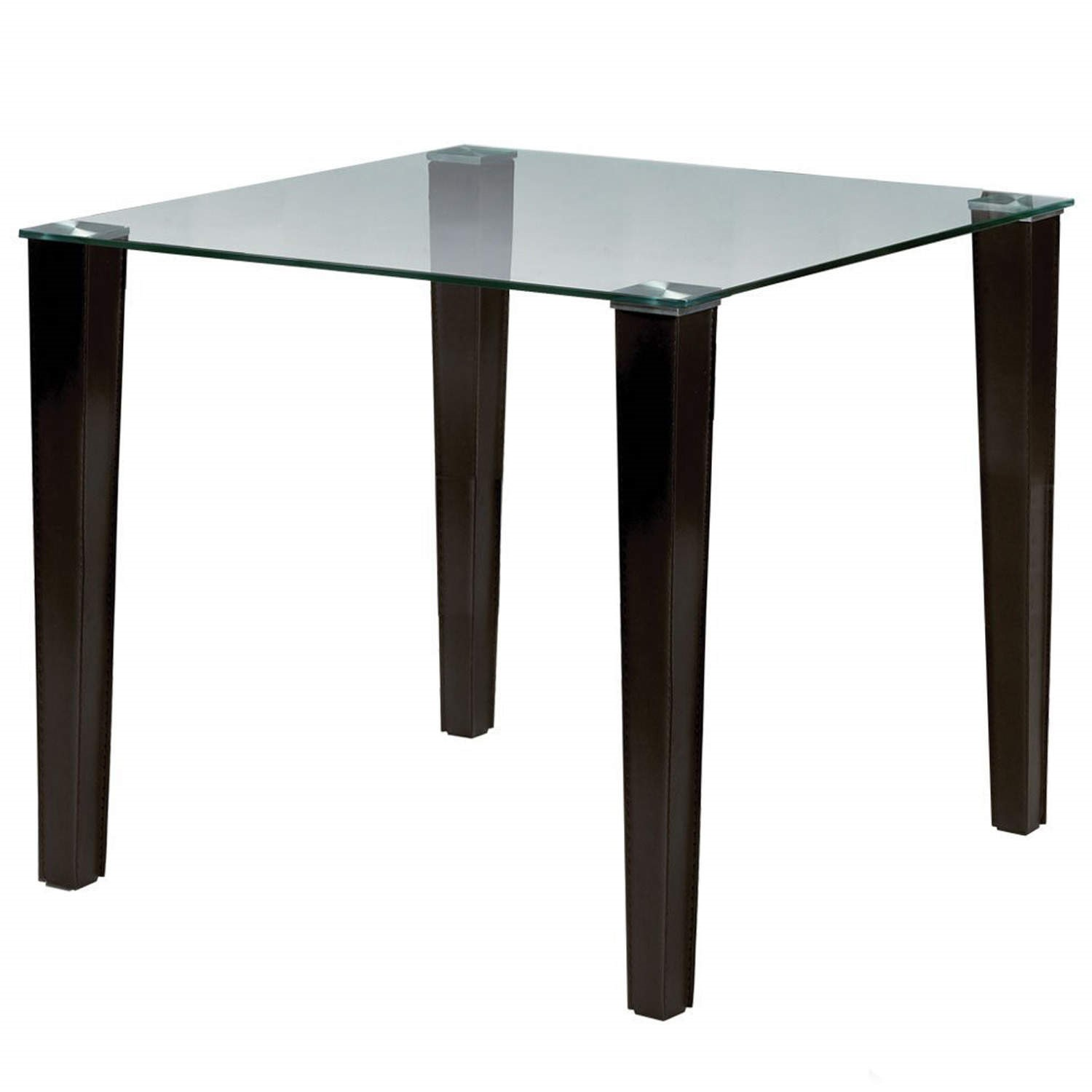 Julian Bowen Quattro Brown Faux Leather Glass Top Dining  : FOL0776061supersize from furniture123.co.uk size 700 x 700 jpeg 33kB