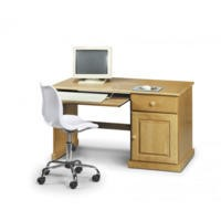 Julian Bowen Surfer Solid Pine Study Desk