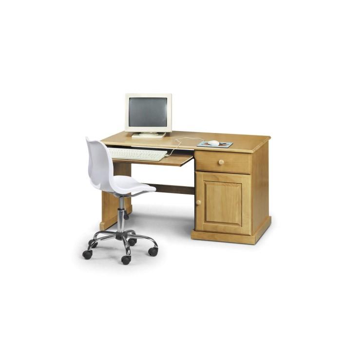Julian Bowen Surfer Solid Pine Study Desk