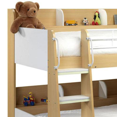 Julian Bowen Domino Bunk Beds In Maple And White Furniture123