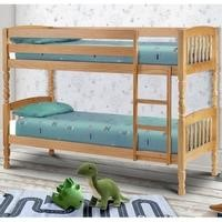 Julian Bowen Lincoln Solid Pine Bunk Bed - small single