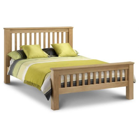 Julian Bowen Amsterdam Solid Oak Double Bed