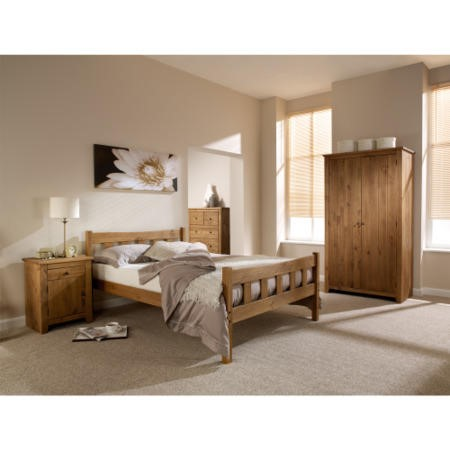 LPD Havana Pine Bed Frame - single