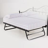 LPD Florence Pop Up Trundle Bed in Black