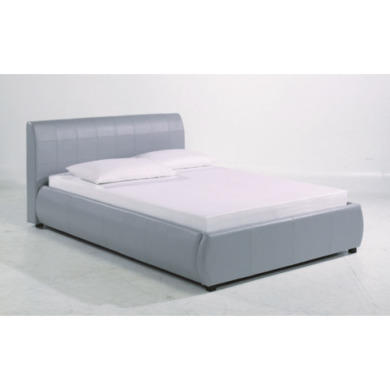 Grey Leather Bed Frame 500 x 500