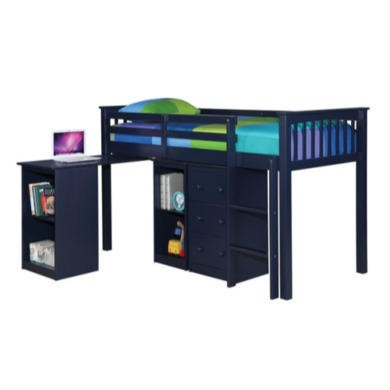LPD Milo Sleep Station in Navy Blue