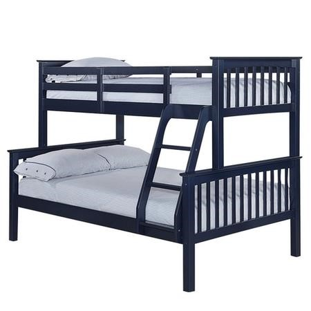 LPD Otto Trio Bunk Bed in Navy Blue