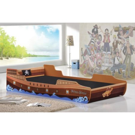 LPD Single Pirate Ship Bed