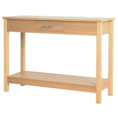 LPD Oakridge Oak Console Table