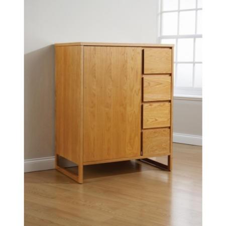 Mountrose Chloe Solid Oak Midi Wardrobe Furniture123