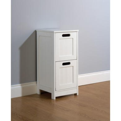 Mountrose Colonial 2 Drawer Bathroom Chest in White