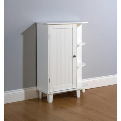 Mountrose Colonial Bathroom Corner Unit in White