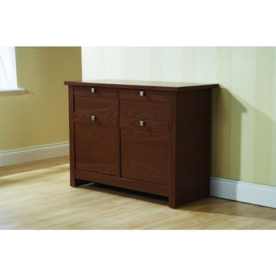 Mountrose Fuse 2 Door 2 Drawer Sideboard in Walnut