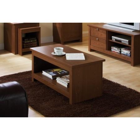 Mountrose Fuse Coffee Table In Walnut Furniture123